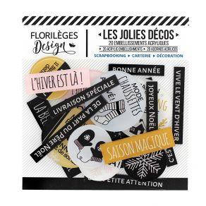 Parfait pour créer : Décos SAISON DU COCOONING par Florilèges Design. Livraison rapide et cadeau dans chaque commande.
