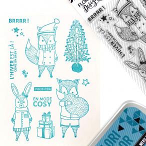 Tampons clear COME ON BABY par Florilèges Design. Scrapbooking et loisirs créatifs. Livraison rapide et cadeau dans chaque co...