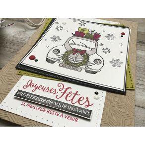 Tampon bois LE MEILLEUR À VENIR par Florilèges Design. Scrapbooking et loisirs créatifs. Livraison rapide et cadeau dans chaq...