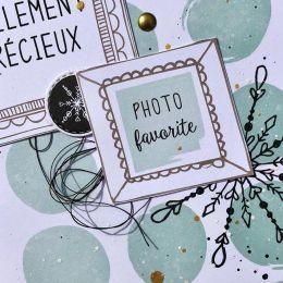 Papier imprimé COSY CHRISTMAS 8 par Florilèges Design. Scrapbooking et loisirs créatifs. Livraison rapide et cadeau dans chaq...