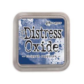 Encre Distress OXIDE CHIPPED SAPPHIRE par Ranger. Scrapbooking et loisirs créatifs. Livraison rapide et cadeau dans chaque co...
