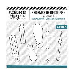 Outils de découpe FLIPETTES ET AIGUILLES par Florilèges Design. Scrapbooking et loisirs créatifs. Livraison rapide et cadeau ...