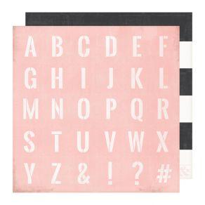 Papier imprimé Emerson Lane CLASSIC par Heidi Swapp. Scrapbooking et loisirs créatifs. Livraison rapide et cadeau dans chaque...