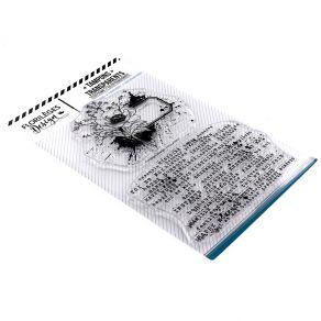 Tampons clear FLEUR ÉTIQUETTE par Florilèges Design. Scrapbooking et loisirs créatifs. Livraison rapide et cadeau dans chaque...