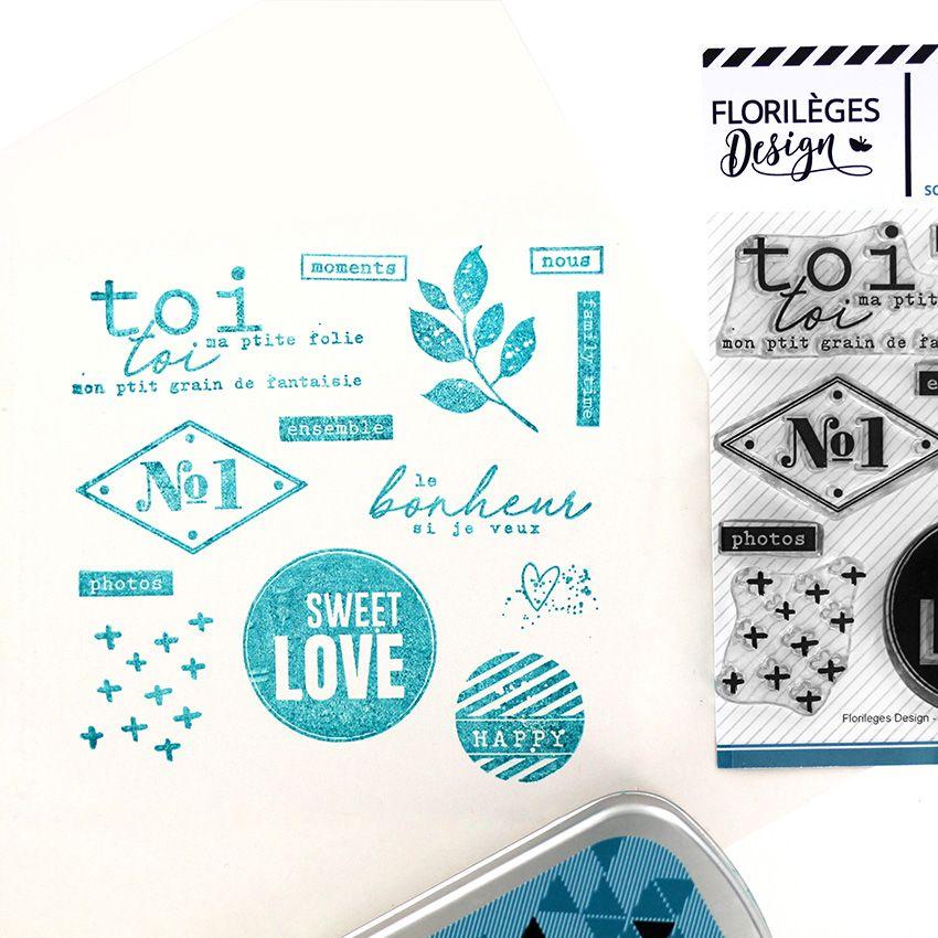 Tampons clear NUMBER ONE par Florilèges Design. Scrapbooking et loisirs créatifs. Livraison rapide et cadeau dans chaque comm...