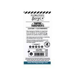 PROMO de -99.99% sur Tampons clear PETITS MOTS BANNIÈRES 2 Florilèges Design