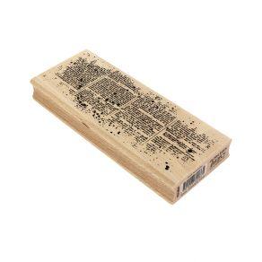 Tampon bois TEXTE HORIZONTAL par Florilèges Design. Scrapbooking et loisirs créatifs. Livraison rapide et cadeau dans chaque ...