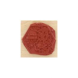 Tampon bois NOUS ON S'AIME par Florilèges Design. Scrapbooking et loisirs créatifs. Livraison rapide et cadeau dans chaque co...