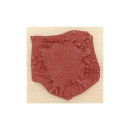 Tampon bois ENJOY MOMENTS par Florilèges Design. Scrapbooking et loisirs créatifs. Livraison rapide et cadeau dans chaque com...