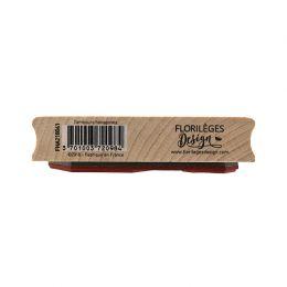 Tampon bois TAMBOURS HEXAGONES
