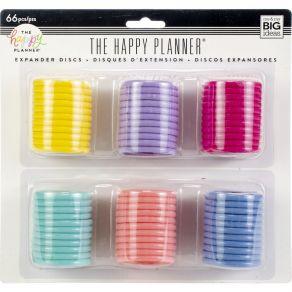Anneaux Create 365 4,5 cm 6 couleurs pastels (big) par Me & My Big Ideas. Scrapbooking et loisirs créatifs. Livraison rapide ...