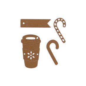 Outils de découpe CANDY MUG par Florilèges Design. Scrapbooking et loisirs créatifs. Livraison rapide et cadeau dans chaque c...