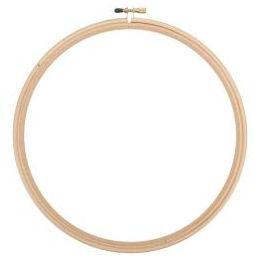 Cercle à broder bois 25 cm