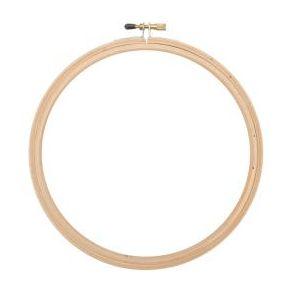 Cercle à broder bois 20 cm