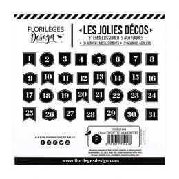 Parfait pour créer : Décos ÉTIQUETTES NUMÉROTÉES par Florilèges Design. Livraison rapide et cadeau dans chaque commande.