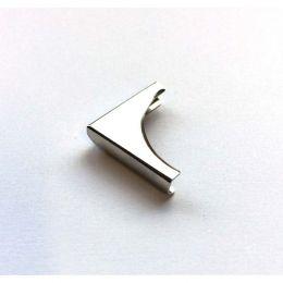 4 coins en métal arrondi concave ARGENT 02 par Ephéméria. Scrapbooking et loisirs créatifs. Livraison rapide et cadeau dans c...