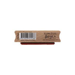 Tampon bois PREMIERS FRIMAS par Florilèges Design. Scrapbooking et loisirs créatifs. Livraison rapide et cadeau dans chaque c...