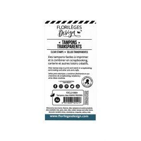 PROMO de -75% sur Tampons clear MAINS FROIDES Florilèges Design