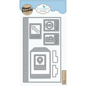 Outils de découpe Elizabeth Craft PLANNER ESSENTIALS 4 par Elizabeth Craft Designs. Scrapbooking et loisirs créatifs. Livrais...