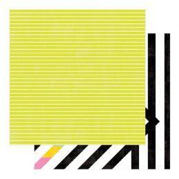 PROMO de -50% sur Papier imprimé Color Fresh BRIGHT & BOLD Heidi Swapp