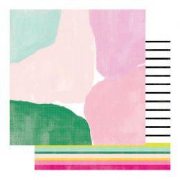 PROMO de -50% sur Papier imprimé Color Fresh FINE LINE Heidi Swapp