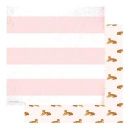 PROMO de -50% sur Papier imprimé Color Fresh HEAR ME ROAR Heidi Swapp