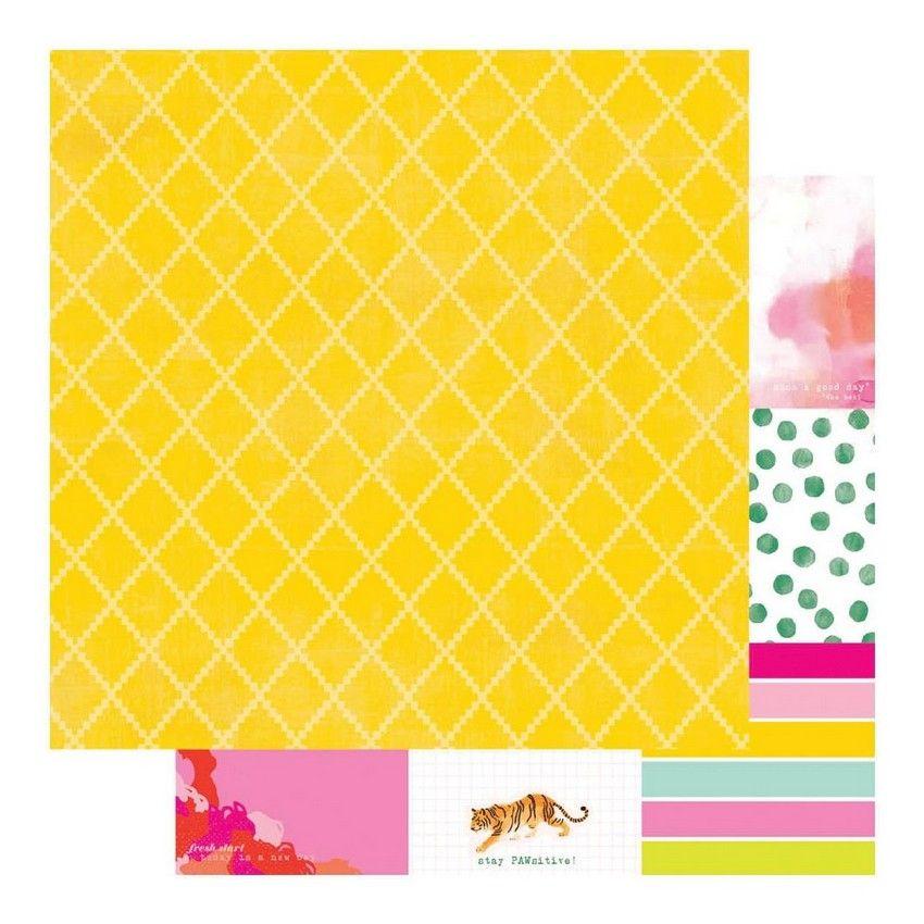 PROMO de -50% sur Papier imprimé Color Fresh NOTE IT Heidi Swapp