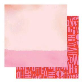 Papier imprimé Color Fresh OH YEAH par Heidi Swapp. Scrapbooking et loisirs créatifs. Livraison rapide et cadeau dans chaque ...