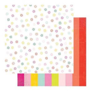 PROMO de -50% sur Papier imprimé Color Fresh SPECTRUM Heidi Swapp