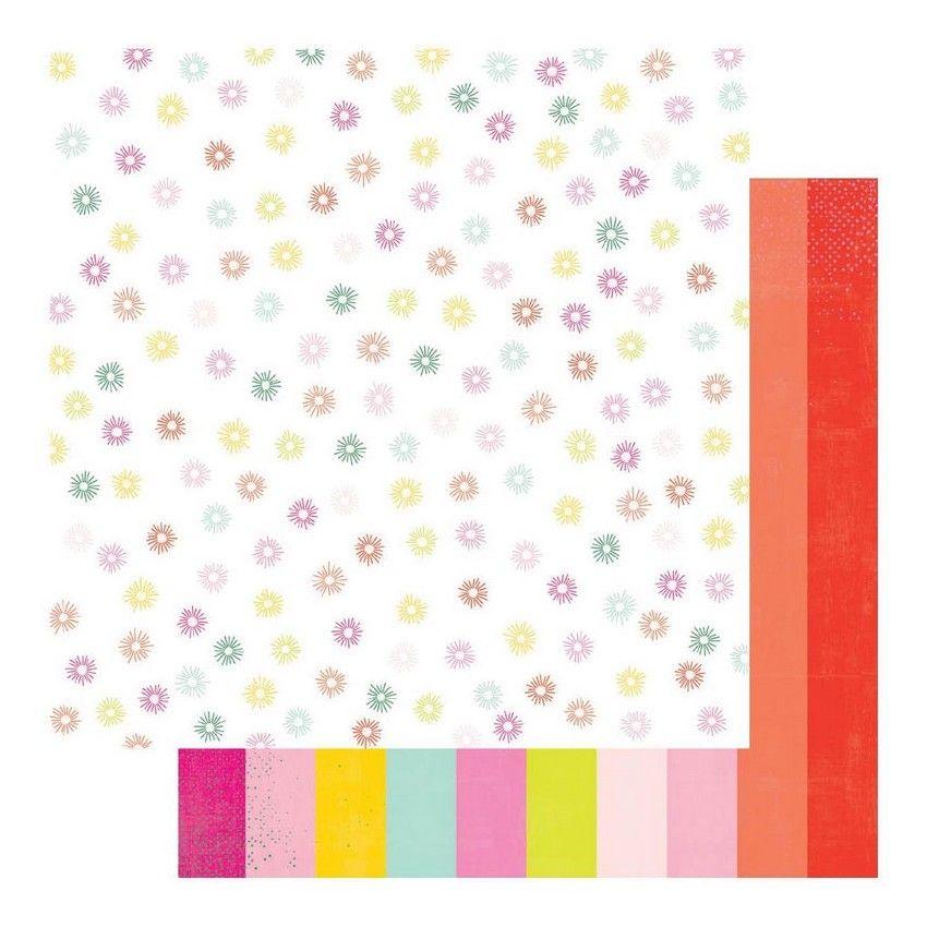 PROMO de -30% sur Papier imprimé Color Fresh SPECTRUM Heidi Swapp