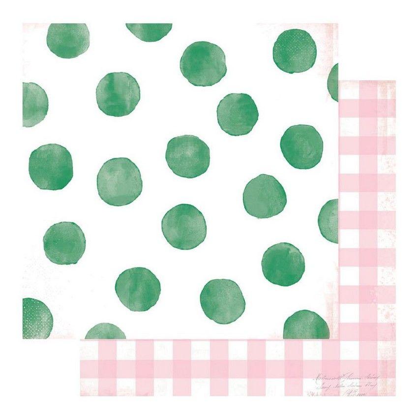 PROMO de -50% sur Papier imprimé Color Fresh TICKLED PINK Heidi Swapp