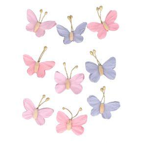 Papillons en papier LOVELY SWAN