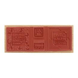Tampon bois allemand SICH EINFACH LIEBEN par Florilèges Design. Scrapbooking et loisirs créatifs. Livraison rapide et cadeau ...