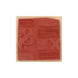 Tampon bois allemand AUSSERGEWÖHNLICHE AUGENBLICKE par Florilèges Design. Scrapbooking et loisirs créatifs. Livraison rapide ...