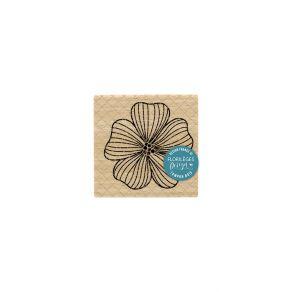 Tampon bois ANÉMONE par Florilèges Design. Scrapbooking et loisirs créatifs. Livraison rapide et cadeau dans chaque commande.