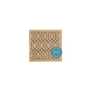 PROMO de -99.99% sur Tampon bois ART DÉCO Florilèges Design