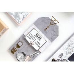 Tampon bois 4 VASES par Florilèges Design. Scrapbooking et loisirs créatifs. Livraison rapide et cadeau dans chaque commande.