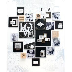 PROMO de -99.99% sur Pochoir ROSACES Florilèges Design