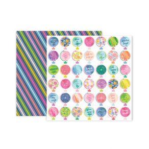 Commandez Papier imprimé Horizon N°11 Pink Paislee. Livraison rapide et cadeau dans chaque commande.