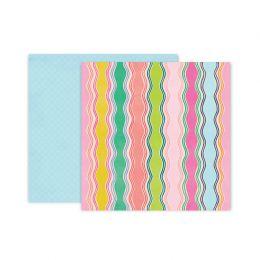 PROMO de -30% sur Papier imprimé Horizon N°8 Pink Paislee