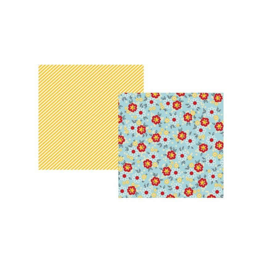 Papier imprimé Say Cheese 4 HAPPY MAGICAL MOMENTS par Simple Stories. Scrapbooking et loisirs créatifs. Livraison rapide et c...