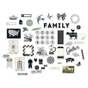 PROMO de -99.99% sur Die cuts GINHAM FARM My Mind's Eye