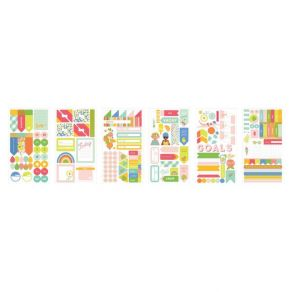 PROMO de -40% sur Set de 6 planches de stickers TUTTI FRUTTI My Mind's Eye