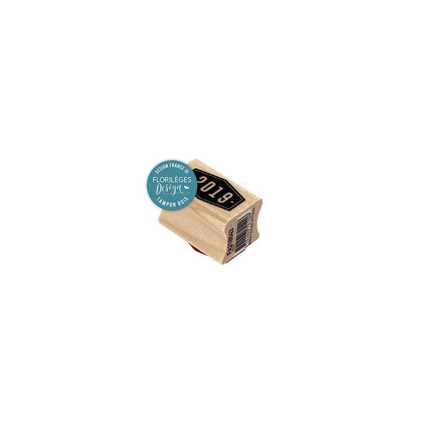 PROMO de -40% sur Tampon bois 2019 Florilèges Design