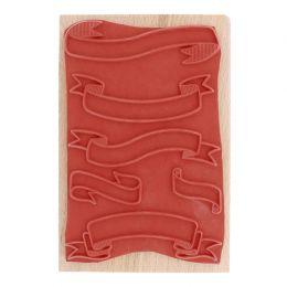 PROMO de -30% sur Tampon bois GRANDES BANNIÈRES Florilèges Design