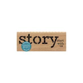 PROMO de -50% sur Tampon bois STORY Florilèges Design
