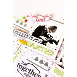 Tampons clear TOGETHER par Florilèges Design. Scrapbooking et loisirs créatifs. Livraison rapide et cadeau dans chaque commande.