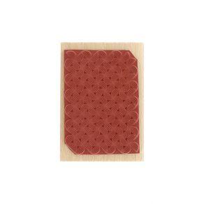 PROMO de -40% sur Tampon bois PETITS MOTIFS LIGNÉS Florilèges Design
