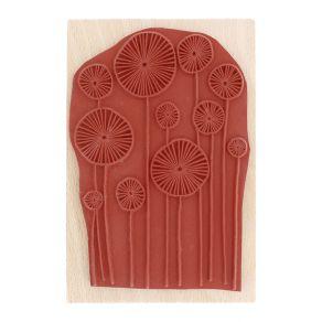 Tampon bois CHAMP DU LEVANT par Florilèges Design. Scrapbooking et loisirs créatifs. Livraison rapide et cadeau dans chaque c...