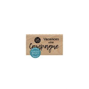 Tampon bois CÔTÉ CAMPAGNE par Florilèges Design. Scrapbooking et loisirs créatifs. Livraison rapide et cadeau dans chaque com...